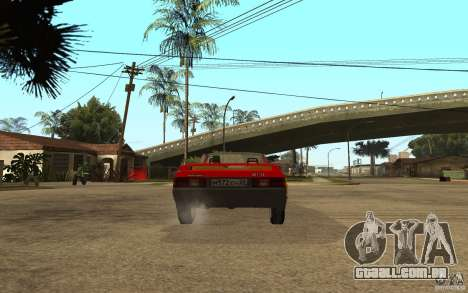 Moskvich 2141 Cabriolet para GTA San Andreas vista direita