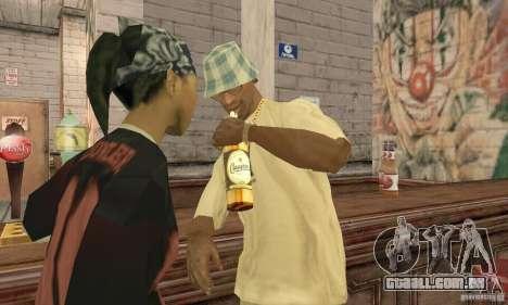 Cerveja SLAVUTYCH para GTA San Andreas