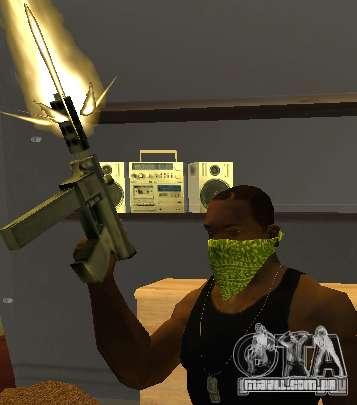 New Bandanas Style para GTA San Andreas por diante tela