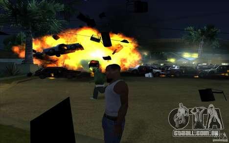 Desenho para GTA San Andreas terceira tela