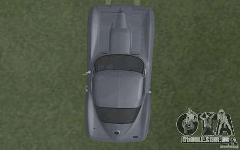 Chevrolet Corvette 427 para GTA San Andreas vista interior