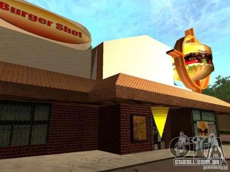 New Burger Shot para GTA San Andreas segunda tela