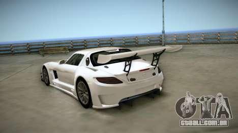 Mercedes-Benz SLS AMG GT3 para GTA San Andreas vista direita
