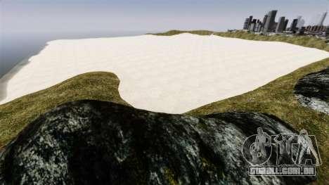 Planícies de sal para GTA 4 quinto tela