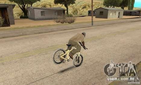 Specialized P.3 Mountain Bike v 0.8 para GTA San Andreas vista traseira