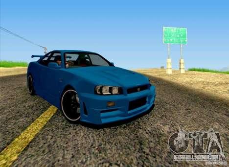 Nissan Skyline R34 Z-Tune V3 para GTA San Andreas