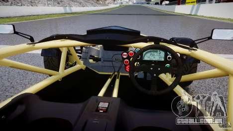 Ariel Atom 3 V8 2012 para GTA 4 vista direita