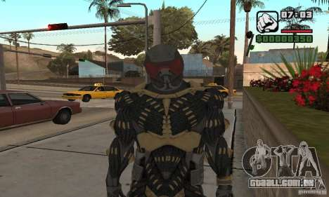 Crysis skin para GTA San Andreas