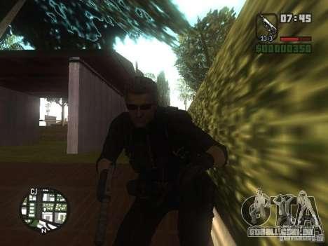 Wesker de RE5 para GTA San Andreas terceira tela