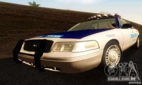Ford Crown Victoria Virginia Police para GTA San Andreas