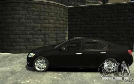 Lexus GS450 2006 para GTA 4 esquerda vista
