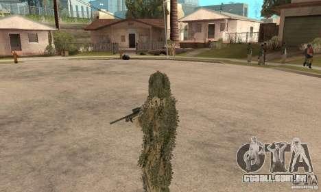 Atirador de pele para GTA San Andreas sexta tela