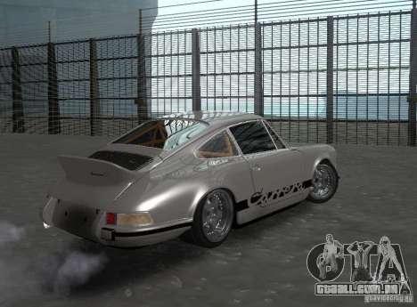 Porsche Carrera RS para GTA San Andreas vista direita