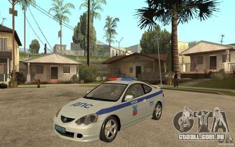 Acura RSX-S DPS Barnaul cidade para GTA San Andreas