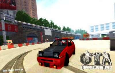 Drift de Londres para GTA San Andreas