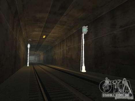 Luzes de tráfego ferroviário 2 para GTA San Andreas por diante tela