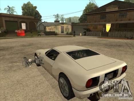 O script CLEO: Super carro para GTA San Andreas segunda tela