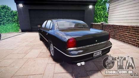 Chrysler New Yorker LHS 1994 para GTA 4 traseira esquerda vista