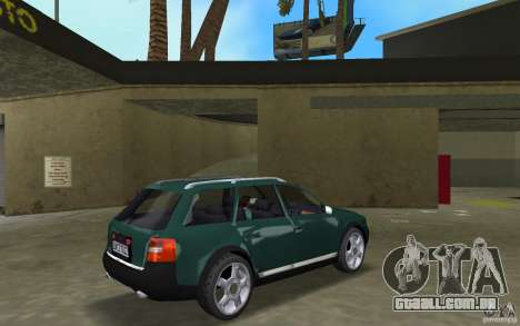 Audi Allroad Quattro para GTA Vice City