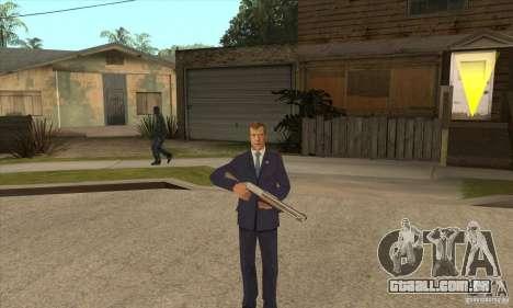 Dmitry Anatolyevich Medvedev para GTA San Andreas terceira tela