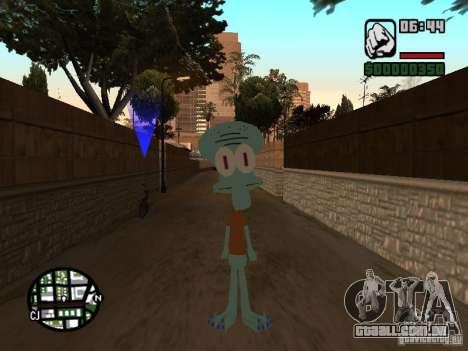 Lula Molusco para GTA San Andreas segunda tela