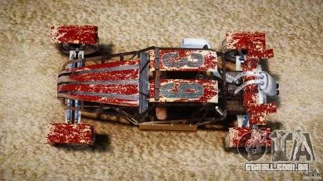 Buggy Avenger v1.2 para GTA 4 vista direita