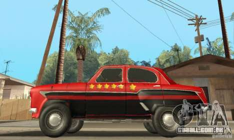 Moskvitch 407 1958 para GTA San Andreas vista inferior