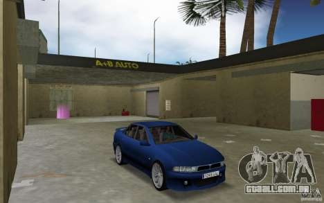 Mitsubishi Galant para GTA Vice City vista traseira