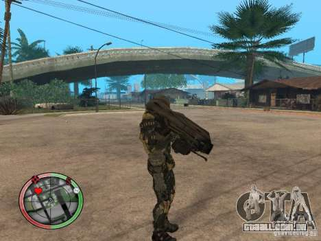 Armas alienígenas de Crysis 2 v2 para GTA San Andreas segunda tela