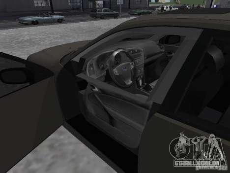 Saab 9-3 Turbo X para GTA San Andreas traseira esquerda vista