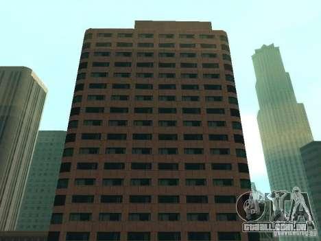 DownTown NEW para GTA San Andreas por diante tela