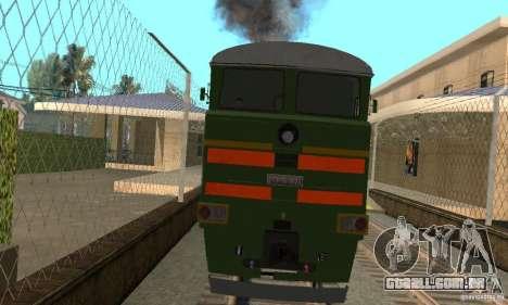Locomotiva 2te116 para GTA San Andreas