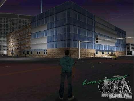 O novo hospital para GTA Vice City por diante tela