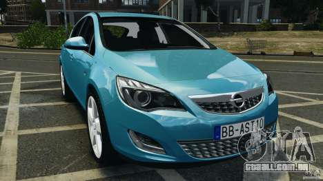 Opel Astra 2010 v2.0 para GTA 4