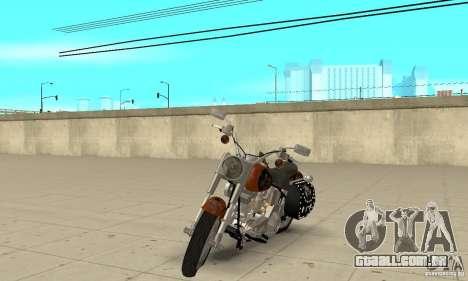 Harley Davidson FLSTF (Fat Boy) v2.0 Skin 2 para GTA San Andreas