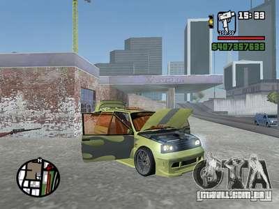 1111 OKA (tuning) para GTA San Andreas interior
