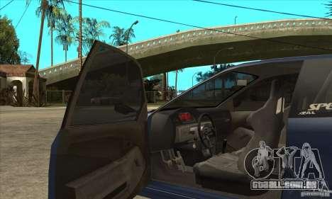 Honda Civic EG6 para GTA San Andreas vista interior