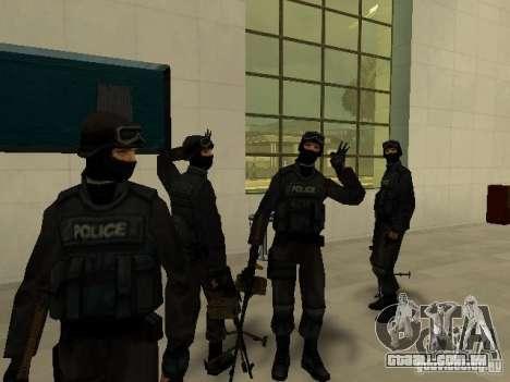 Ajuda Swat para GTA San Andreas segunda tela