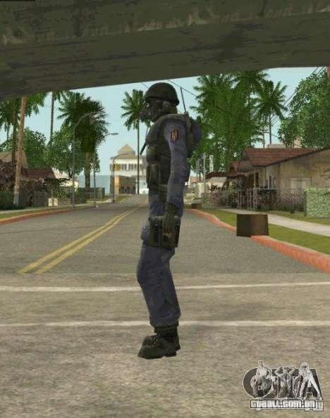 Counter-terrorist para GTA San Andreas décimo tela