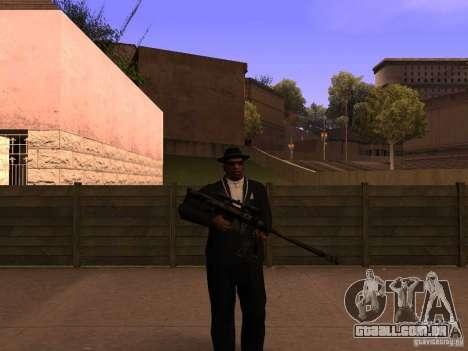 M95 Barrett Sniper para GTA San Andreas segunda tela