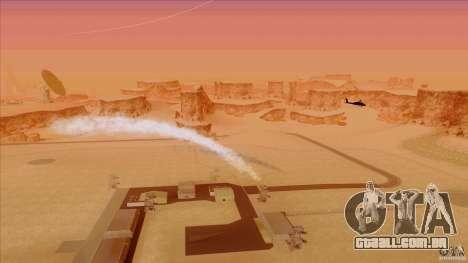 Armadilhas de calor para caçador para GTA San Andreas terceira tela