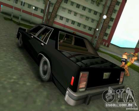 Ford Crown Victora LTD 1985 para GTA Vice City vista direita