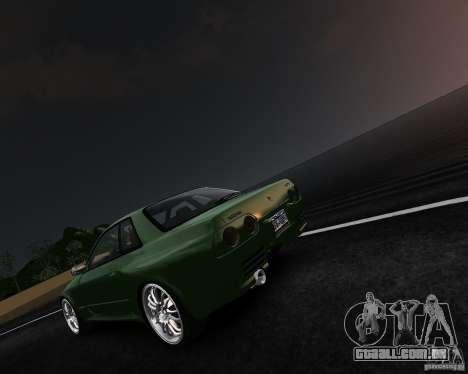Nissan Skyline R32 GTS-t Veilside para GTA 4 esquerda vista