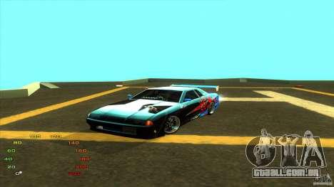 Pack vinil para Elegy para GTA San Andreas oitavo tela