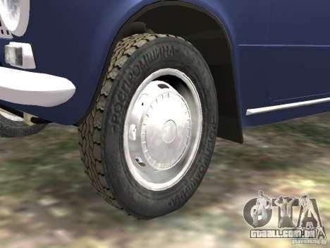 VAZ 2101 para GTA 4 vista lateral