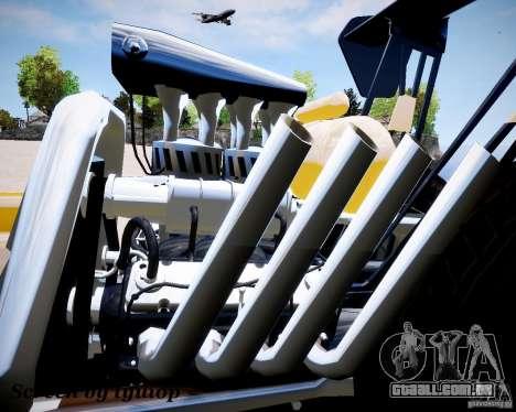 Raketomobil′ para GTA 4 traseira esquerda vista