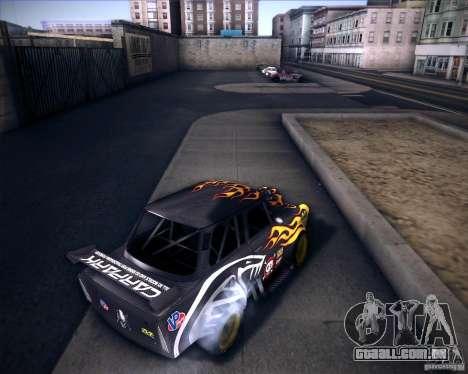 Trabant drag para GTA San Andreas traseira esquerda vista