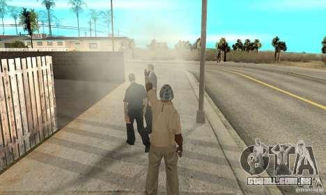 SuperClon (clonagem pessoas em SAN ANDREAS) para GTA San Andreas sétima tela
