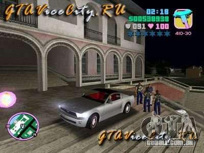 Ford Mustang GT Concept para GTA Vice City