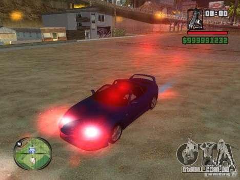 Xenon v3.0 para GTA San Andreas segunda tela